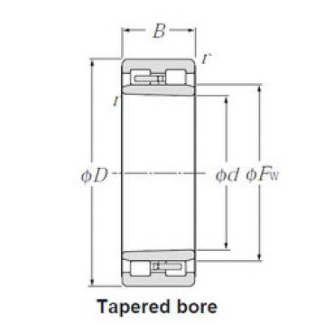 Cylindrical Roller Bearings Distributior NNU4956K NTN
