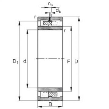 Cylindrical Roller Bearings Distributior NNU4936-S-M-SP FAG