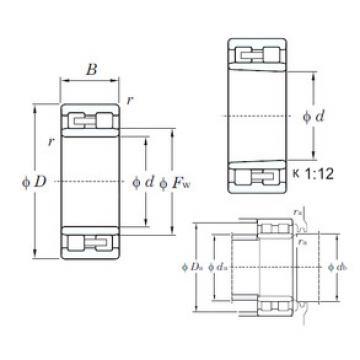 Cylindrical Roller Bearings Distributior NNU4952K KOYO