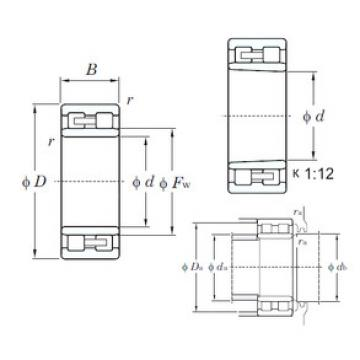 Cylindrical Roller Bearings Distributior NNU4968K KOYO