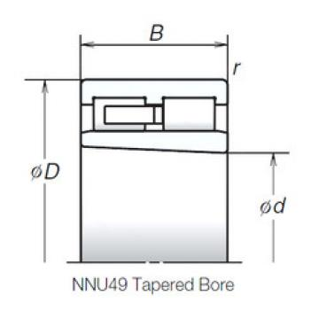 Cylindrical Roller Bearings Distributior NNU4924MBKR NSK