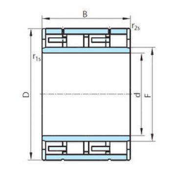 Cylindrical Roller Bearings Distributior NNU60/630 PSL