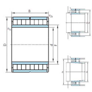 Cylindrical Roller Bearings Distributior NNU6934V PSL