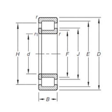 Cylindrical Roller Bearings Distributior NUP206E.TVP Timken