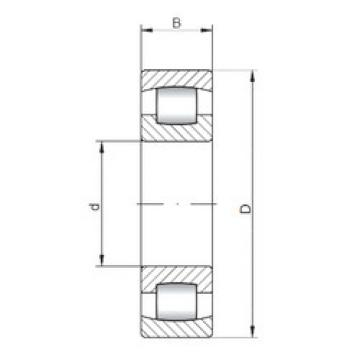 Spherical Roller Bearings 20238 ISO