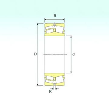 Spherical Roller Bearings 22205/20 ISB