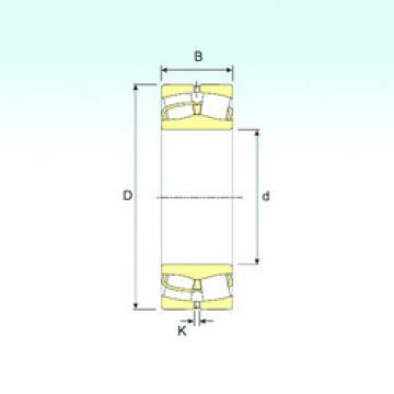 Spherical Roller Bearings 239/1180 ISB