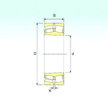 Spherical Roller Bearings 23080 K ISB