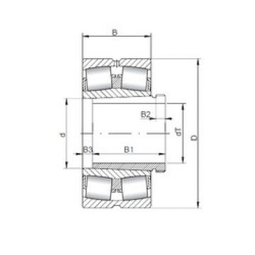 Spherical Roller Bearings 23068 KCW33+AH3068 ISO