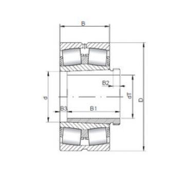 Spherical Roller Bearings 23168 KCW33+AH3168 ISO