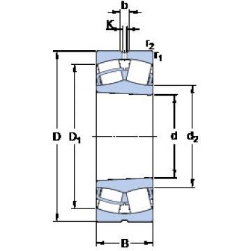 Spherical Roller Bearings 23252 CCK/W33 SKF