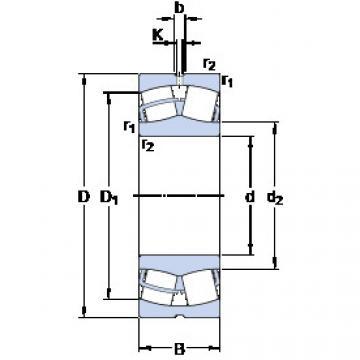 Spherical Roller Bearings 23028 CC/W33 SKF