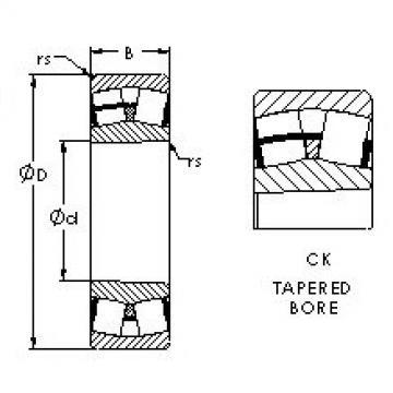 Spherical Roller Bearings 23028CK AST
