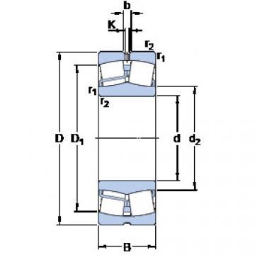 Spherical Roller Bearings 22312 E/VA405 SKF