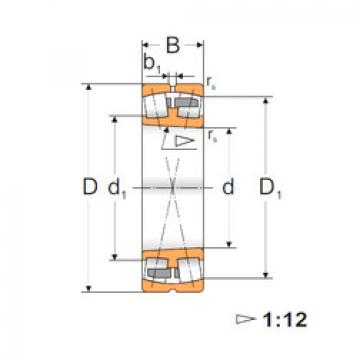 Spherical Roller Bearings 22308K FBJ