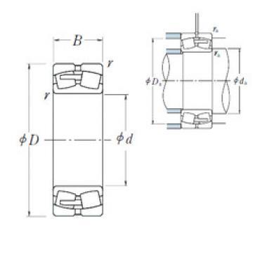 Spherical Roller Bearings 23080CAE4 NSK