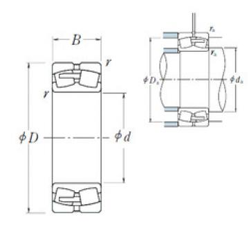 Spherical Roller Bearings 23168CAE4 NSK