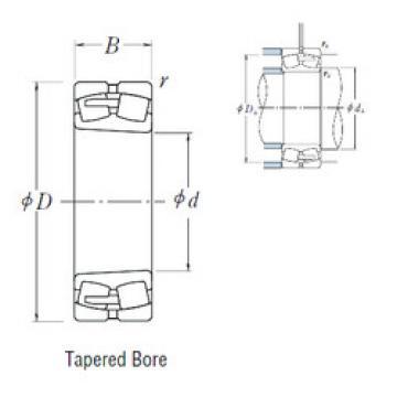 Spherical Roller Bearings 239/560CAKE4 NSK