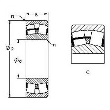 Spherical Roller Bearings 23028C AST
