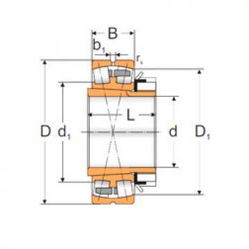 Spherical Roller Bearings 22336 ACKMW33+H2336 MPZ