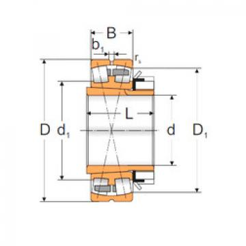 Spherical Roller Bearings 22340 ACKMW33+H2340 MPZ