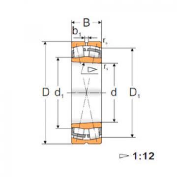 Spherical Roller Bearings 22314 KW33 MPZ