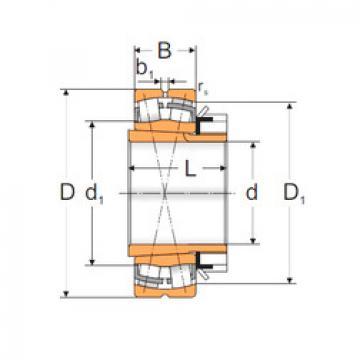 Spherical Roller Bearings 22311 KW33+H2311 MPZ