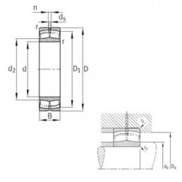 Spherical Roller Bearings 22332-A-MA-T41A FAG