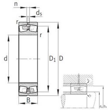 Spherical Roller Bearings 23084-B-MB FAG