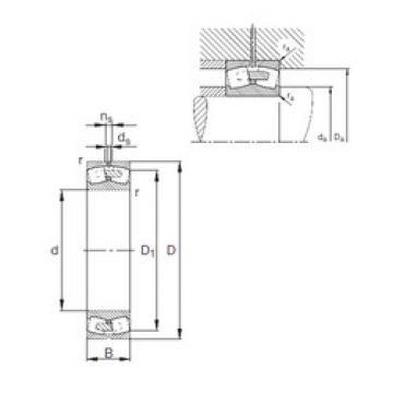 Spherical Roller Bearings 23176-E1A-MB1 FAG