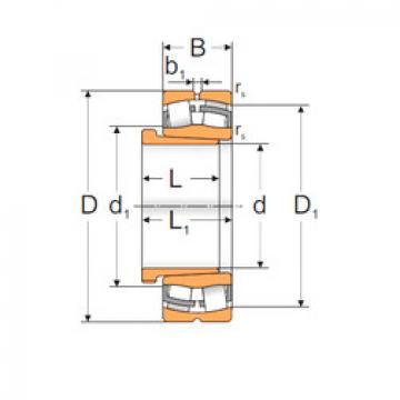 Spherical Roller Bearings 22318 KW33+AH2318X MPZ