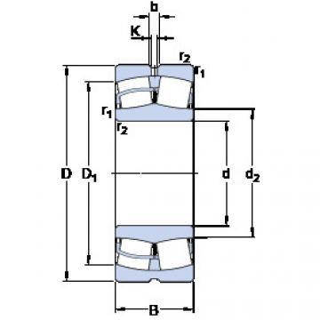 Spherical Roller Bearings 22348 CCJA/W33VA405 SKF