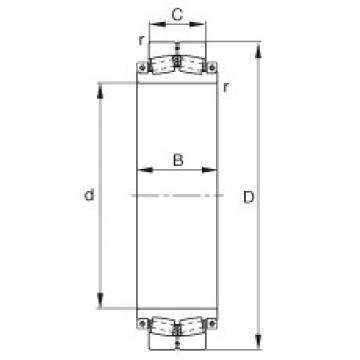 Spherical Roller Bearings 230SM630-MA FAG