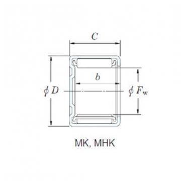 needle roller bearing sleeve MK661 KOYO