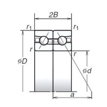 angular contact thrust bearings 110BTR10H NSK