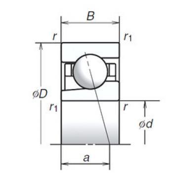 angular contact thrust bearings 12BGR10X NSK