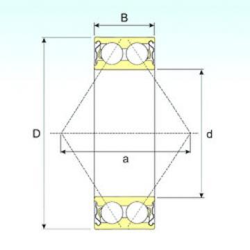angular contact thrust bearings 3307-ZZ ISB