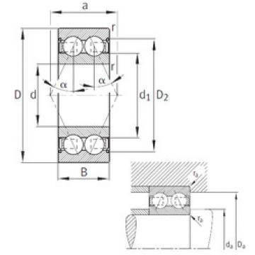 angular contact thrust bearings 3203-B-2Z-TVH FAG