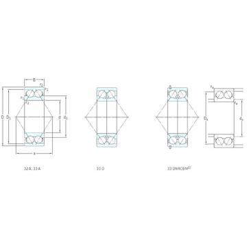 angular contact thrust bearings 3305A SKF