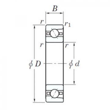 angular contact thrust bearings 3NC HAR011C FT KOYO