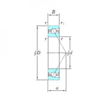 angular contact thrust bearings 3NCHAR017 KOYO