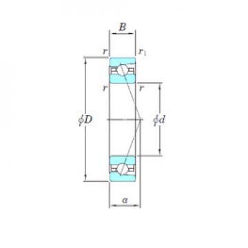 angular contact thrust bearings 3NCHAR919CA KOYO