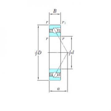 angular contact thrust bearings 3NCHAR917 KOYO