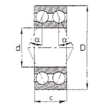 angular contact thrust bearings 5214 FBJ