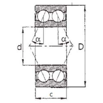 angular contact thrust bearings 5203ZZ FBJ