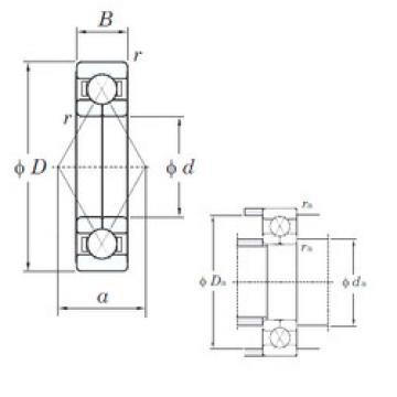 angular contact thrust bearings 6319BI KOYO
