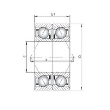 angular contact thrust bearings 7040 ADB ISO