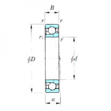 angular contact thrust bearings 7002CPA KOYO