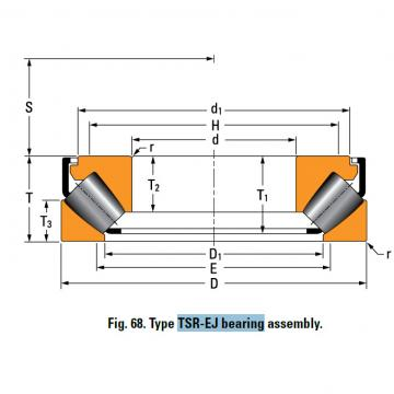 THRUST SPHERICAL ROLLER BEARINGS TYPES TSR-EJ AND TSR-EM 294/710EM