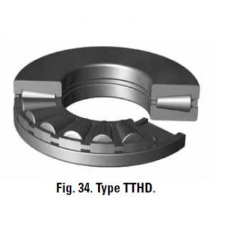 TTVS TTSP TTC TTCS TTCL  thrust BEARINGS T127 T127W